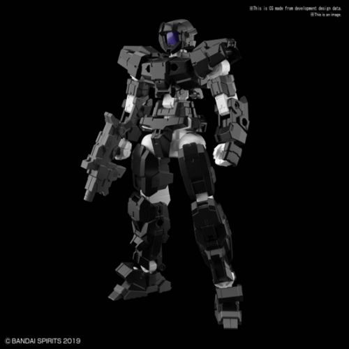 GUNDAM - 30MM - EEXM 17 Alto Black - Model Kit - 1/144 - 11cm