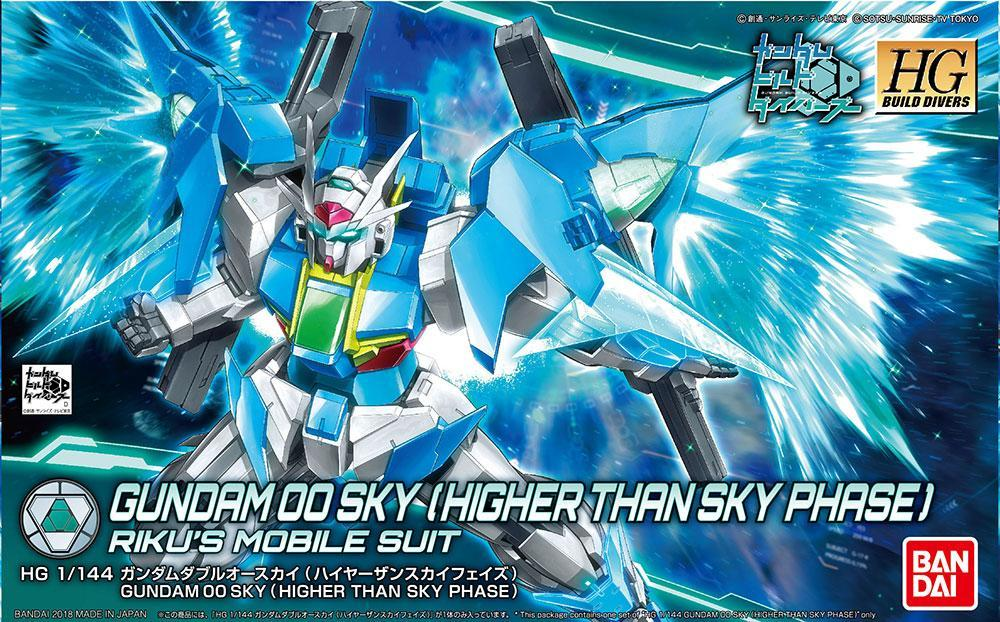 GUNDAM - Model Kit - HG 1/144 - Gundam 00 Sky Higher than Sky Phase
