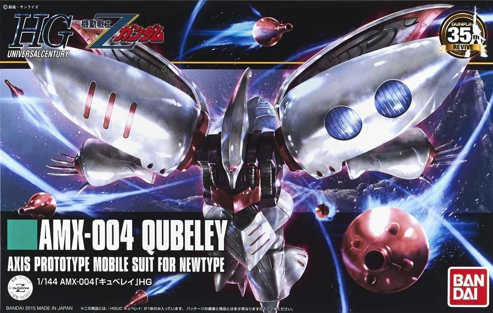 GUNDAM - Model Kit - HG 1/144 - AMX-004 Qubeley - 13CM