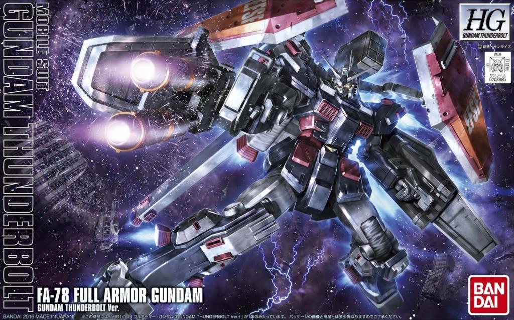 GUNDAM - Model Kit - HG 1/144 - Full Armor Gundam Thunder. - 13 CM