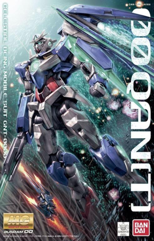 GUNDAM - Model Kit - MG 1/100 - 00 Qan'T' - 18CM