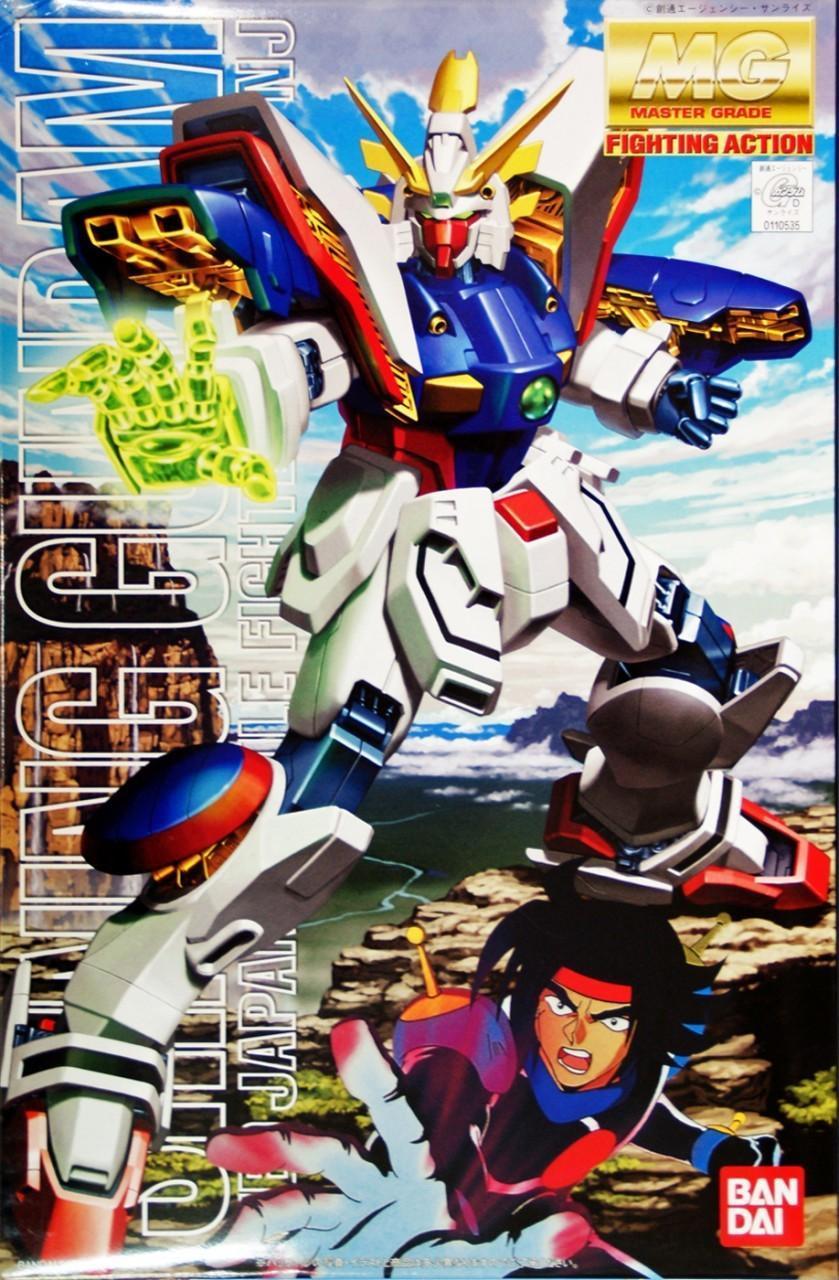 GUNDAM - Model Kit - MG 1/100 - Shining Gundam - 18CM