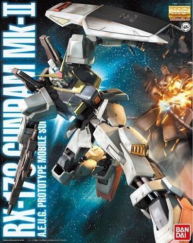 GUNDAM - Model Kit - MG 1/100 - Gundam Mk-II Ver. 2.0 - 18CM