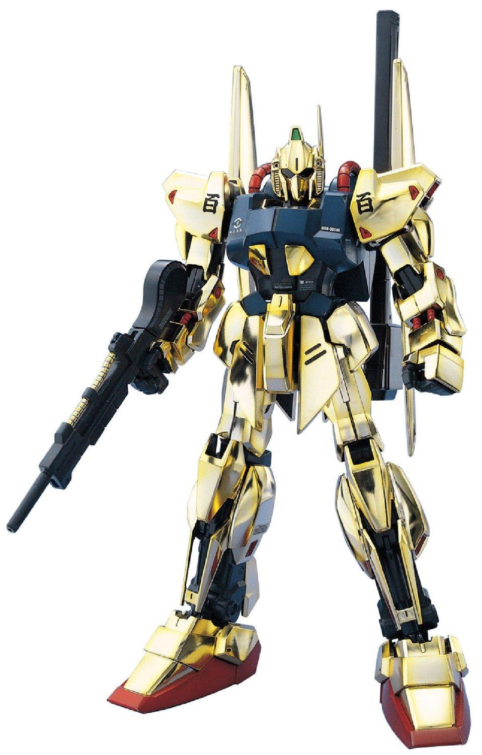 GUNDAM - Model Kit - MG 1/100 - MSN-100 Hyakushiki - 18CM