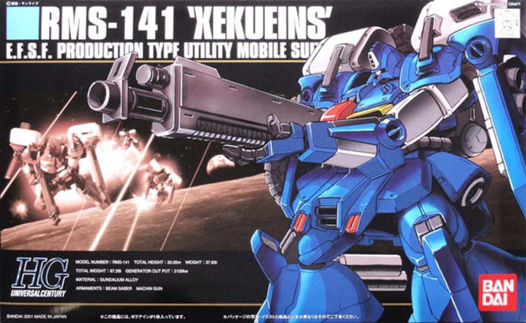 GUNDAM - Model Kit - HGUC 1/144 - RMS-141 ZEKU EINS - 13cm