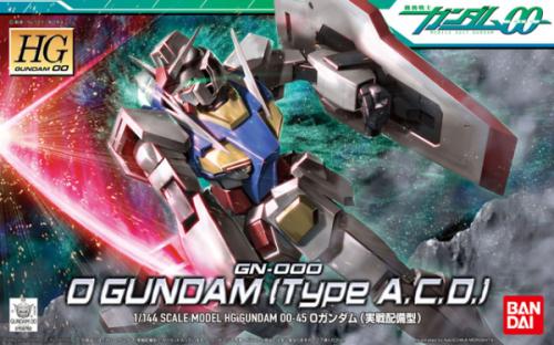 GUNDAM - Model Kit - HG 1/144 - O Gundam Operation Mode - 13cm