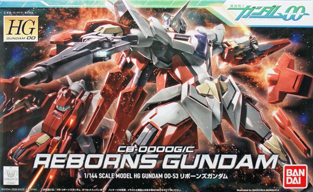 GUNDAM - Model Kit - HG 1/144 - Reborns Gundam - 13cm
