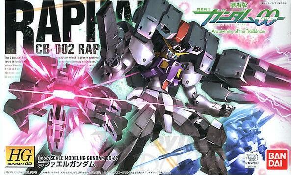 GUNDAM - Model Kit - HG 1/144 - Raphael Gundam - 13cm