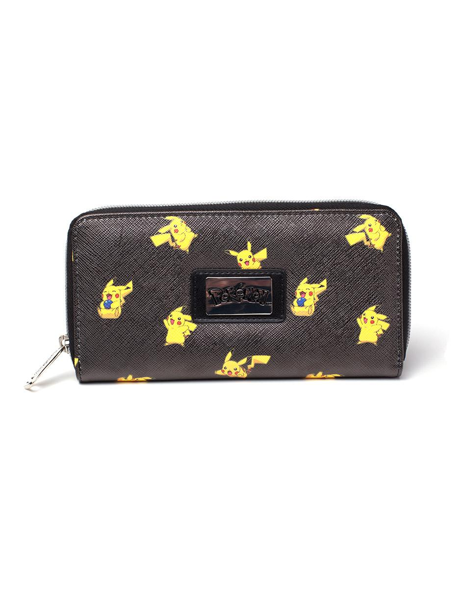 POKEMON - Portefeuille - Pikachu Zipper Bifold Girls