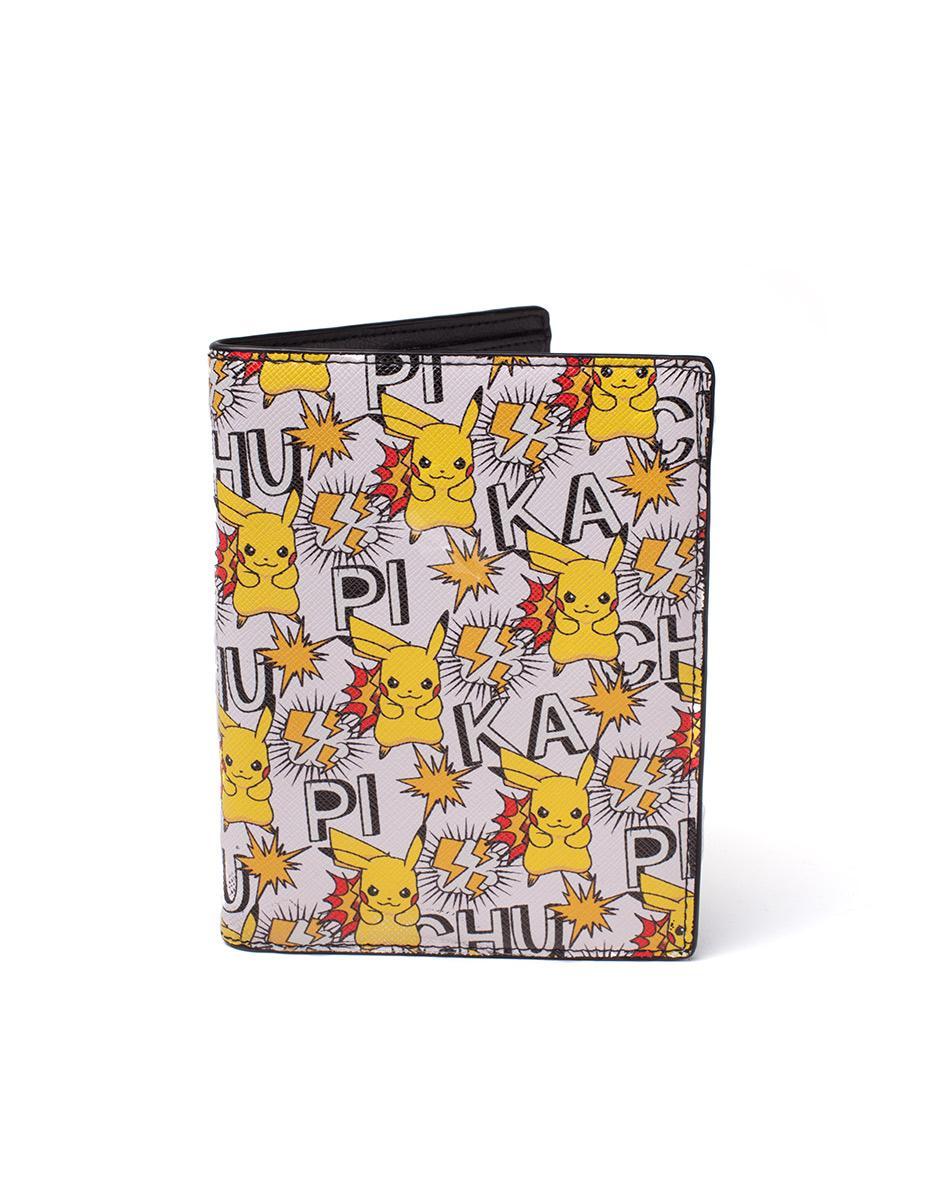 POKEMON - Hinge Wallet - Pikachu