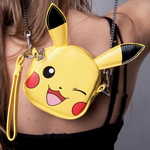 POKEMON - Sac pochette girls - Pikachu