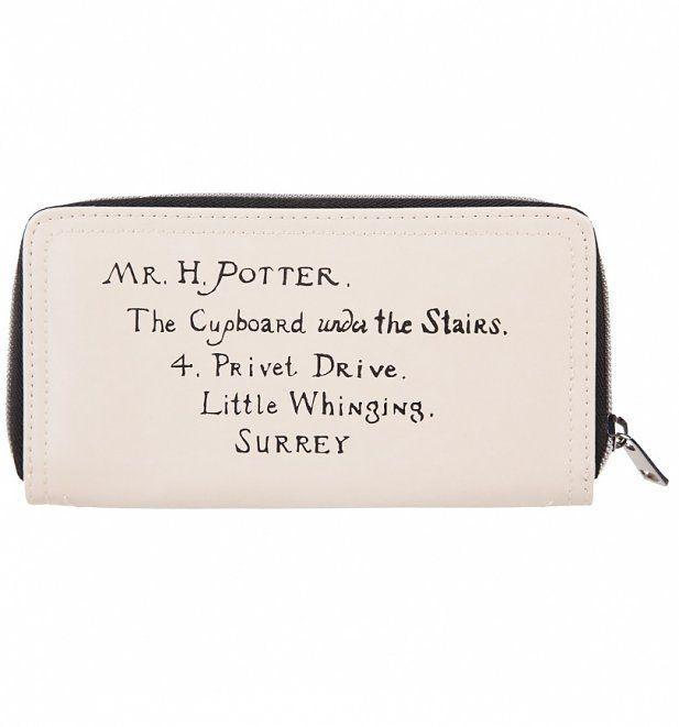 HARRY POTTER - Letter Ladies Wallet_5