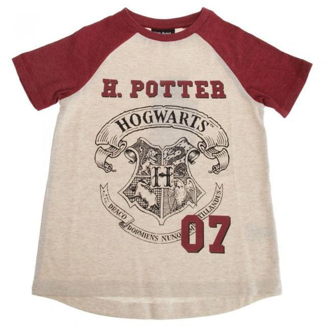 HARRY POTTER - T-Shirt Kids Hogwarts Crest (5-6 ans)