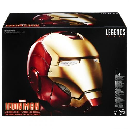 MARVEL - Marvel Legends - Casque Electronique - Iron Man_1