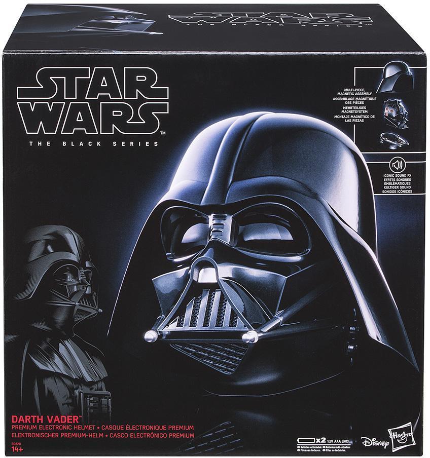 STAR WARS - Back Series Replica Darth Vader Helm