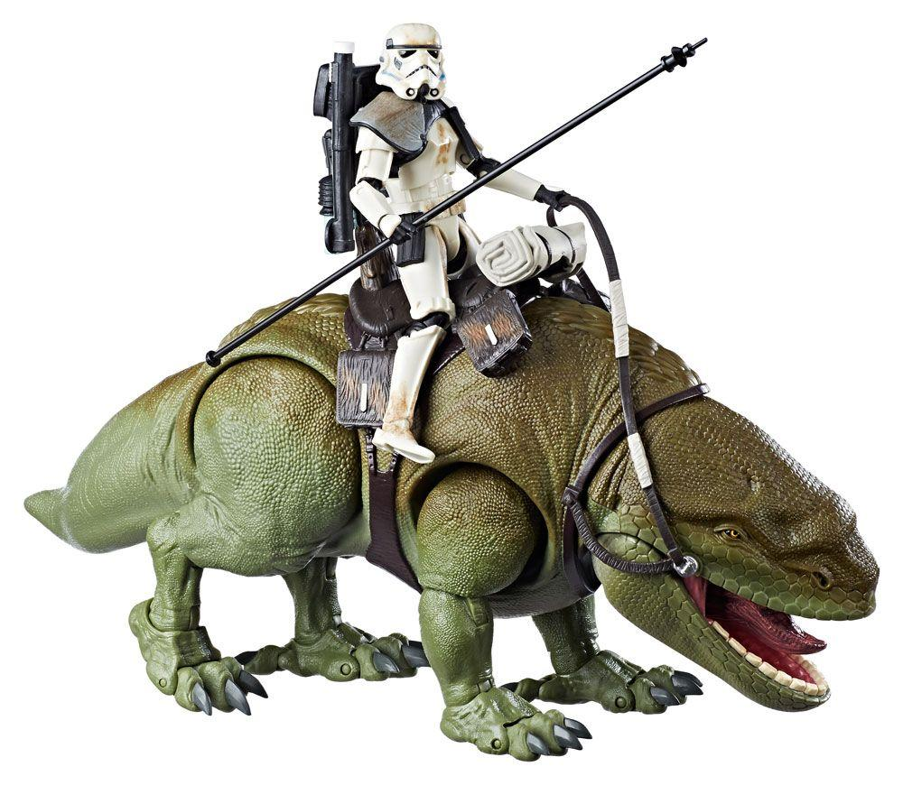 STAR WARS - Black Series - Dewback with Sandtrooper