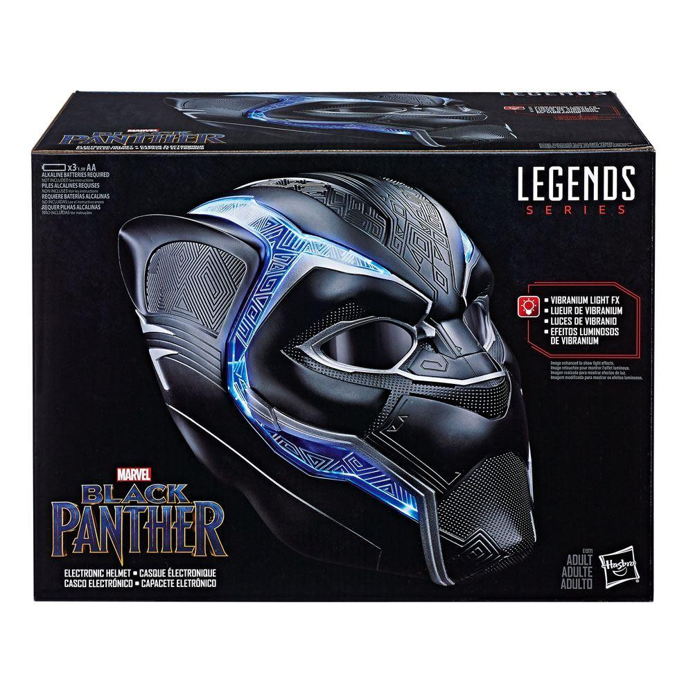 MARVEL - Marvel Legends - Casque Electronique - Black Panther