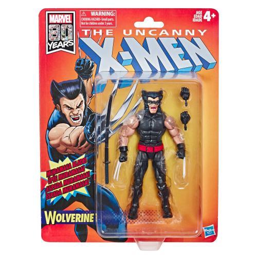 MARVEL Legends RETRO Series Wave 1 Uncanny X-Men - Wolverine