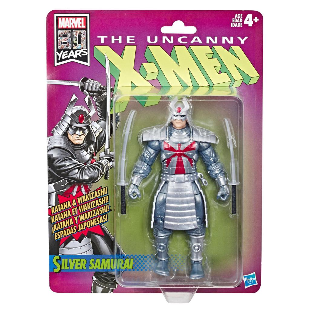 MARVEL Legends RETRO Series Wave 1 Uncanny X-Men - Silver Samurai_1