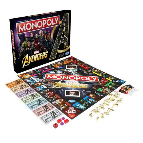 MARVEL AVENGERS - Monopoly - Jeu de plateau (UK Only)