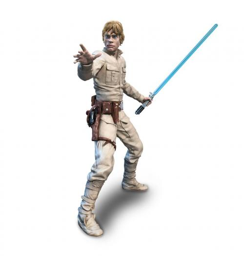 STAR WARS V - Luke Skywalker - Figurine Black Series Hyperreal 20cm
