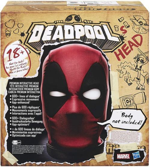 DEADPOOL - Tête Interactive Premium (Version Anglaise)