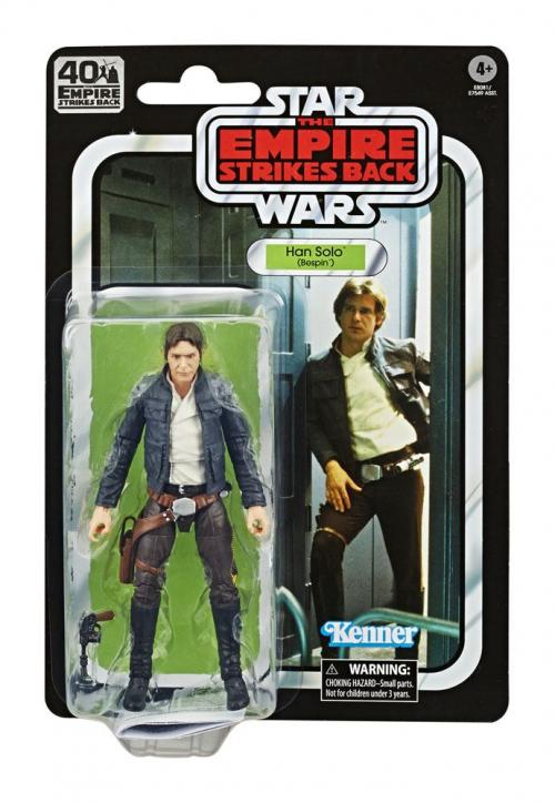STAR WARS Empire Strikes Back 40 Th Ann.- Black Series - Han Solo