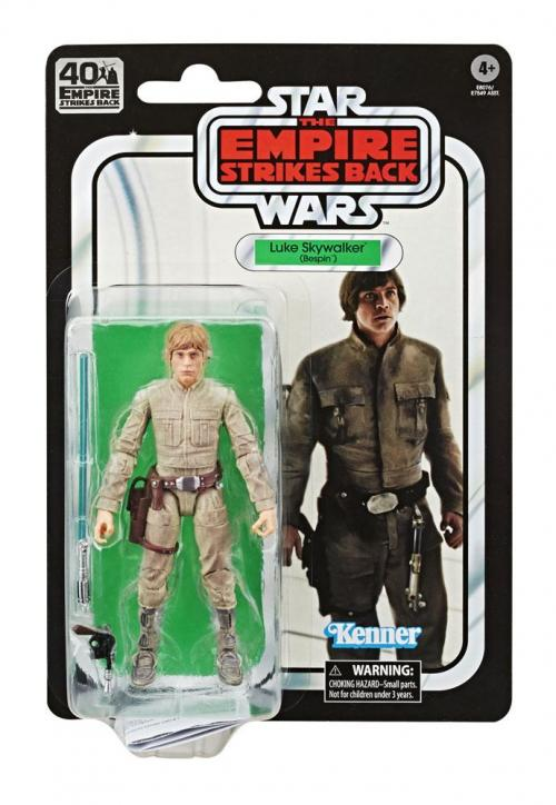 STAR WARS Empire Strikes Back 40 Th Ann.- Black Series - Luke