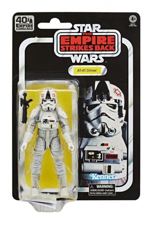 STAR WARS Empire Strikes Back 40 Th Ann.- Black Series - AT-AT Driver