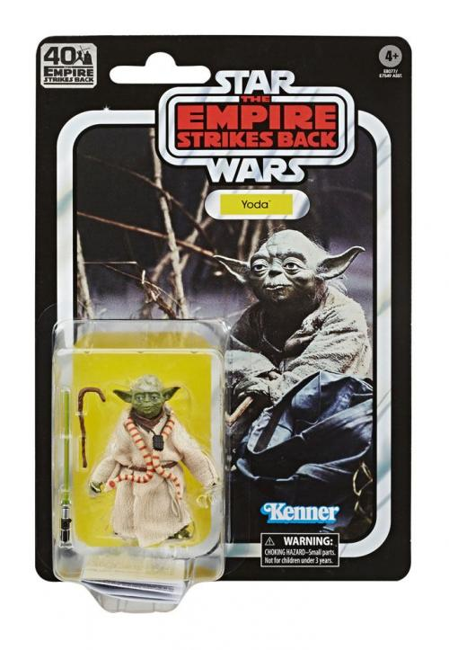STAR WARS Empire Strikes Back 40 Th Ann.- Black Series - Yoda