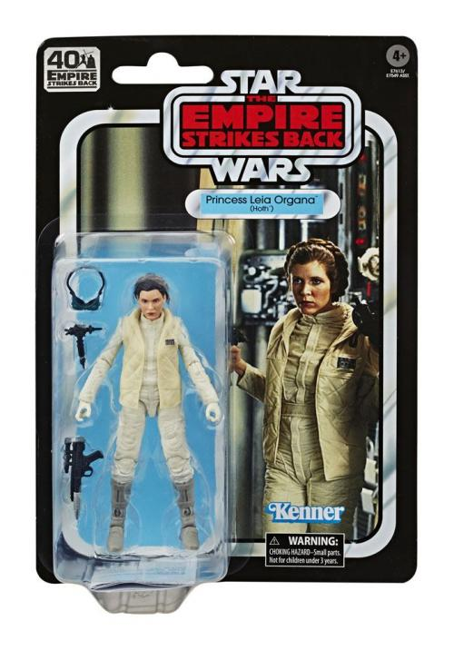 STAR WARS Empire Strikes Back 40 Th Ann.- Black Series - Leia