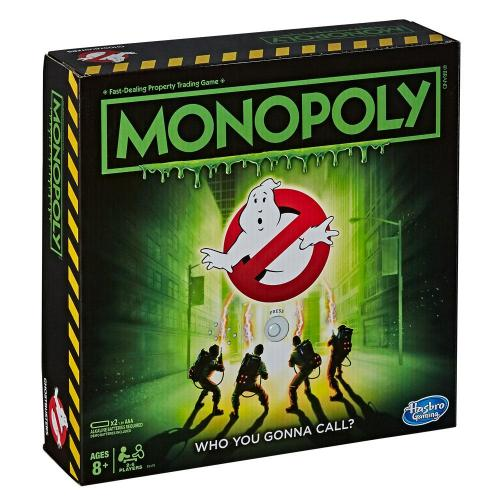GHOSTBUSTERS - Monopoly - Jeu de plateau (UK Only)