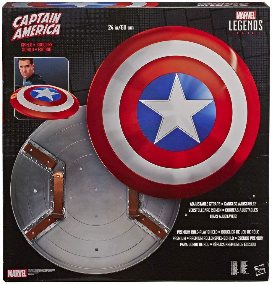 MARVEL Legends Series - Réplique 1/1 - Bouclier Captain America - 61cm
