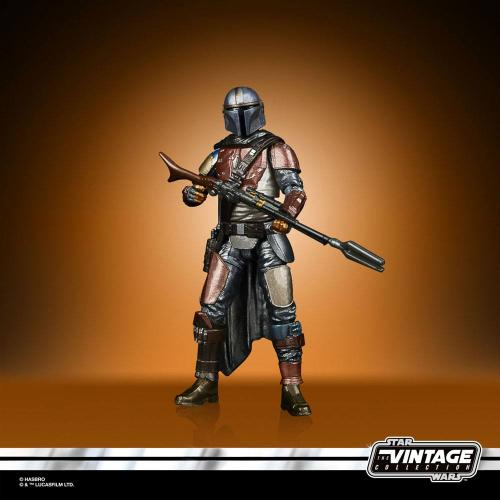 STAR WARS - The Mandalorian - Figurine Vintage Collection Carbonized