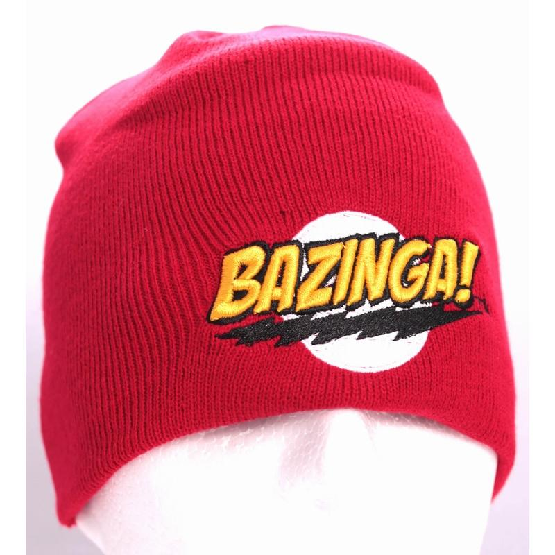 BIG BANG THEORY - Bonnet Classic Bazinga - Red