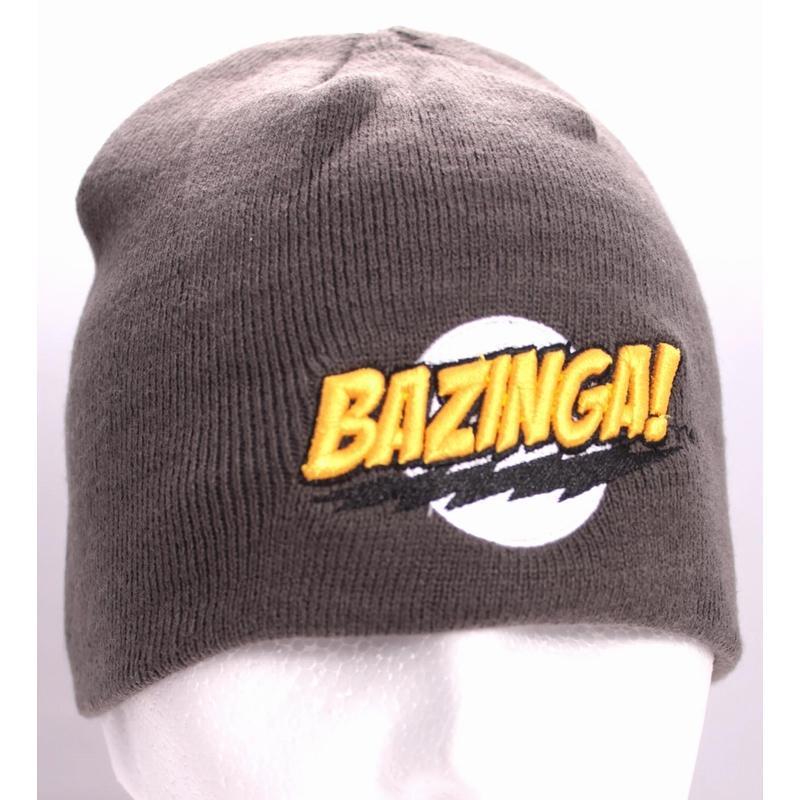 BIG BANG THEORY - Bonnet Classic Bazinga - Grey