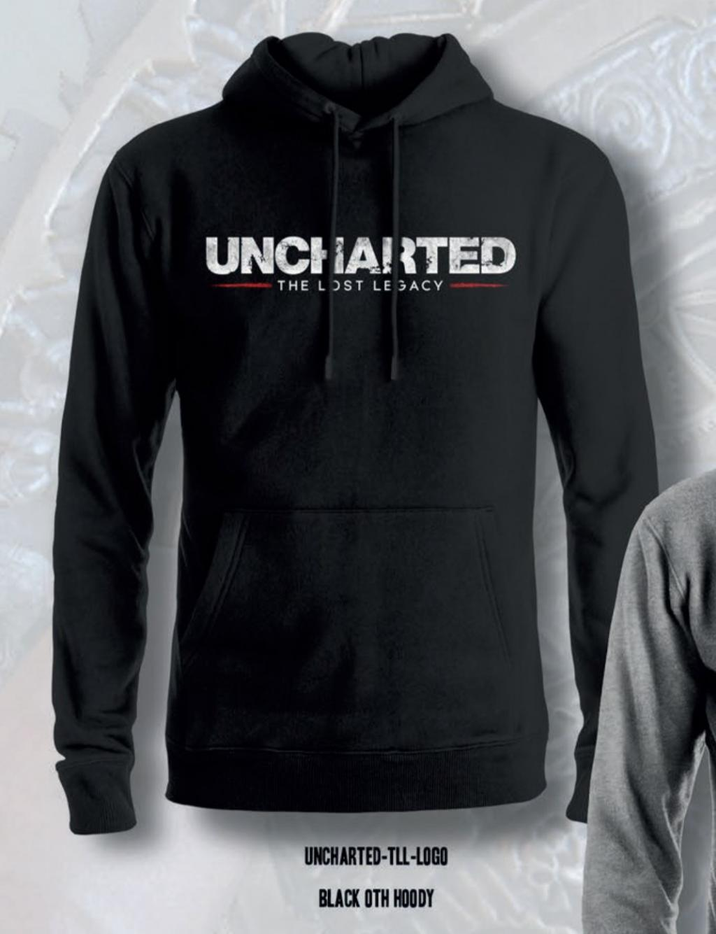 UNCHARTED - Sweat Hoodie The Lost Legacy Logo - Black (L)