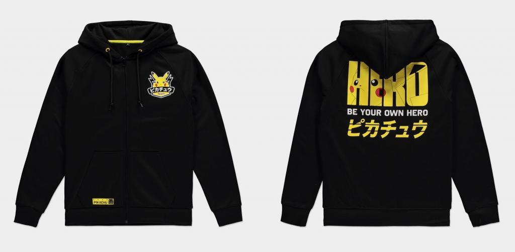 POKEMON - Olympics Pikachu - Hoodie homme (S)_1