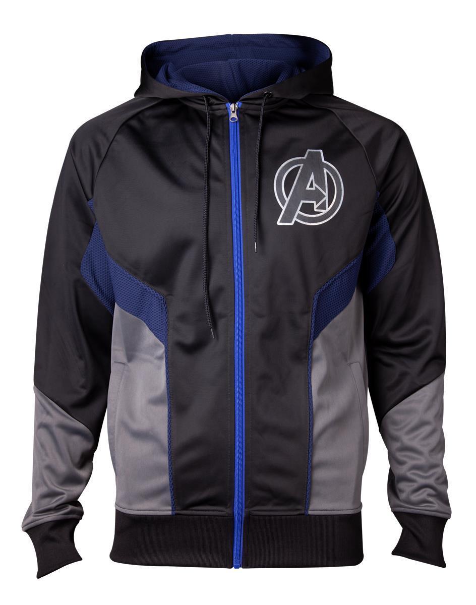 AVENGERS INFINITY WAR - Hologram Avengers Logo Men's Hoodie (S)