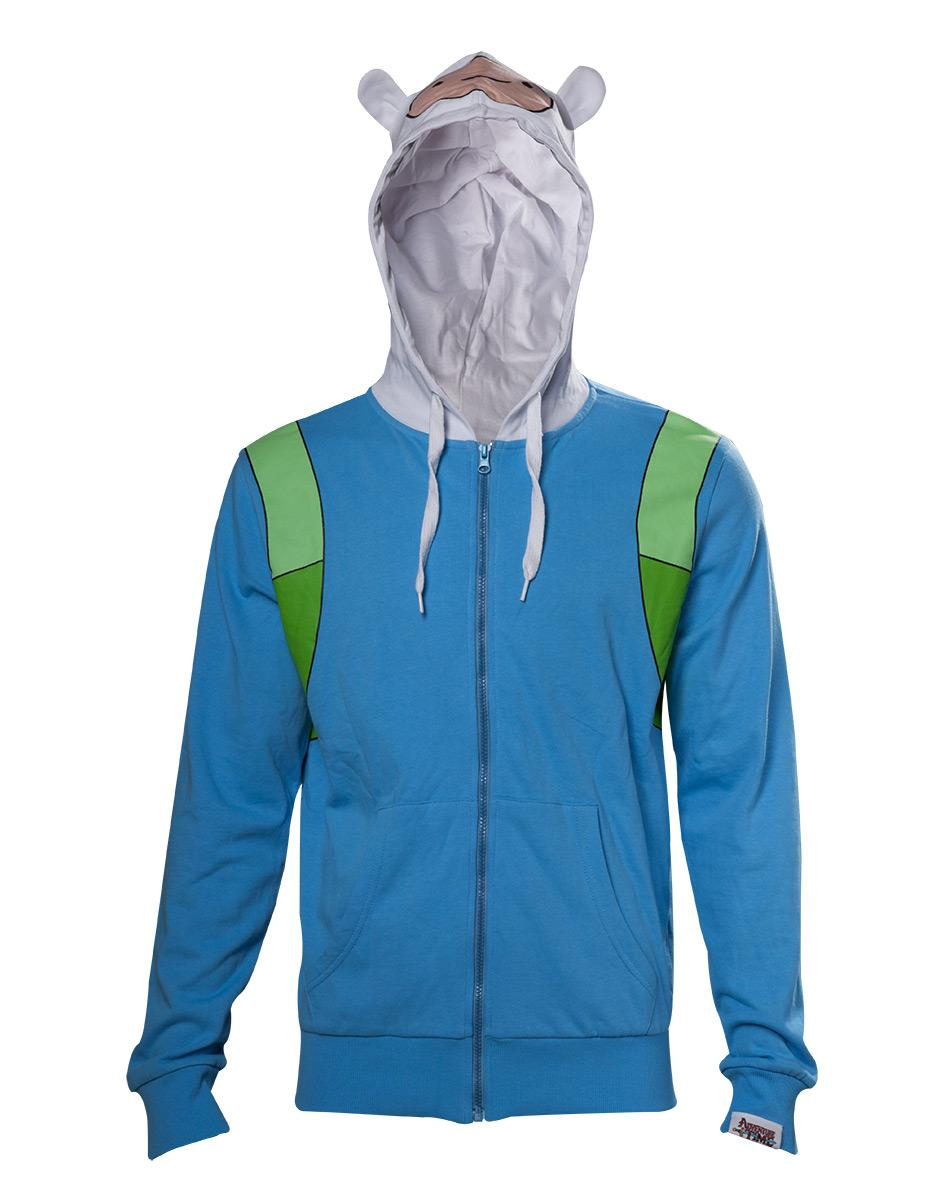 ADVENTURE TIME - Finn Inspired Cosplay Hoodie (L)