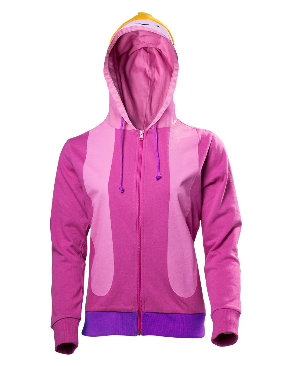 ADVENTURE TIME - Princess Bubblegum Inspired Cosplay Hoodie (L)