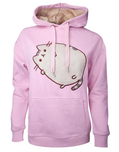 PUSHEEN - Embroidered Outline Pusheen Women's Hoodie (S)