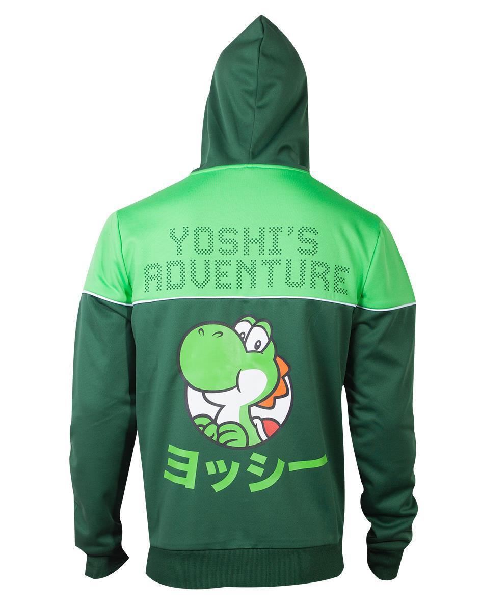 NINTENDO - Super Mario Yoshi's Adventure Men's Hoodie (M)_2