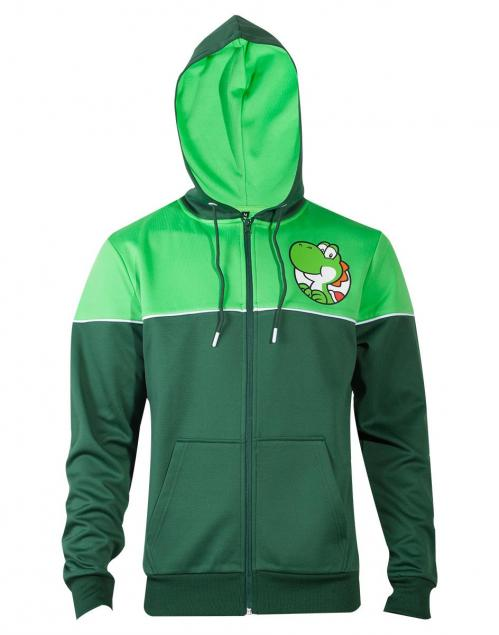 NINTENDO - Super Mario Yoshi's Adventure Men's Hoodie (M)