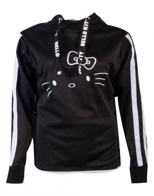HELLO KITTY - Side Buttons Women's Hoodie (S)