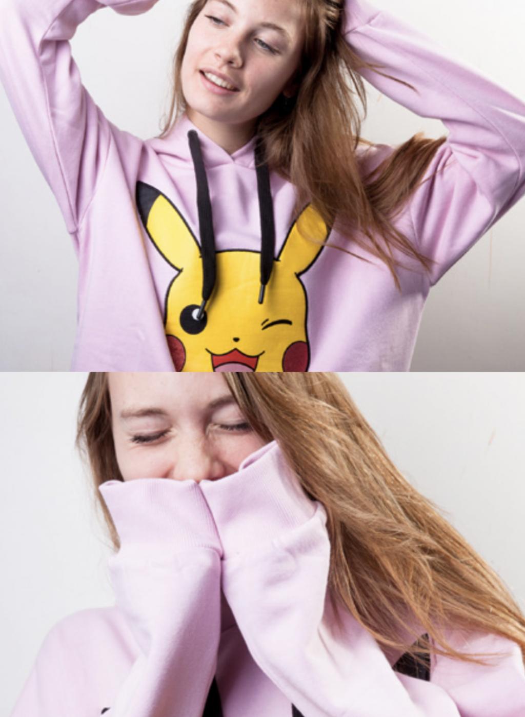 POKEMON - Women's Sweatshirt - Pikachu (M)_4