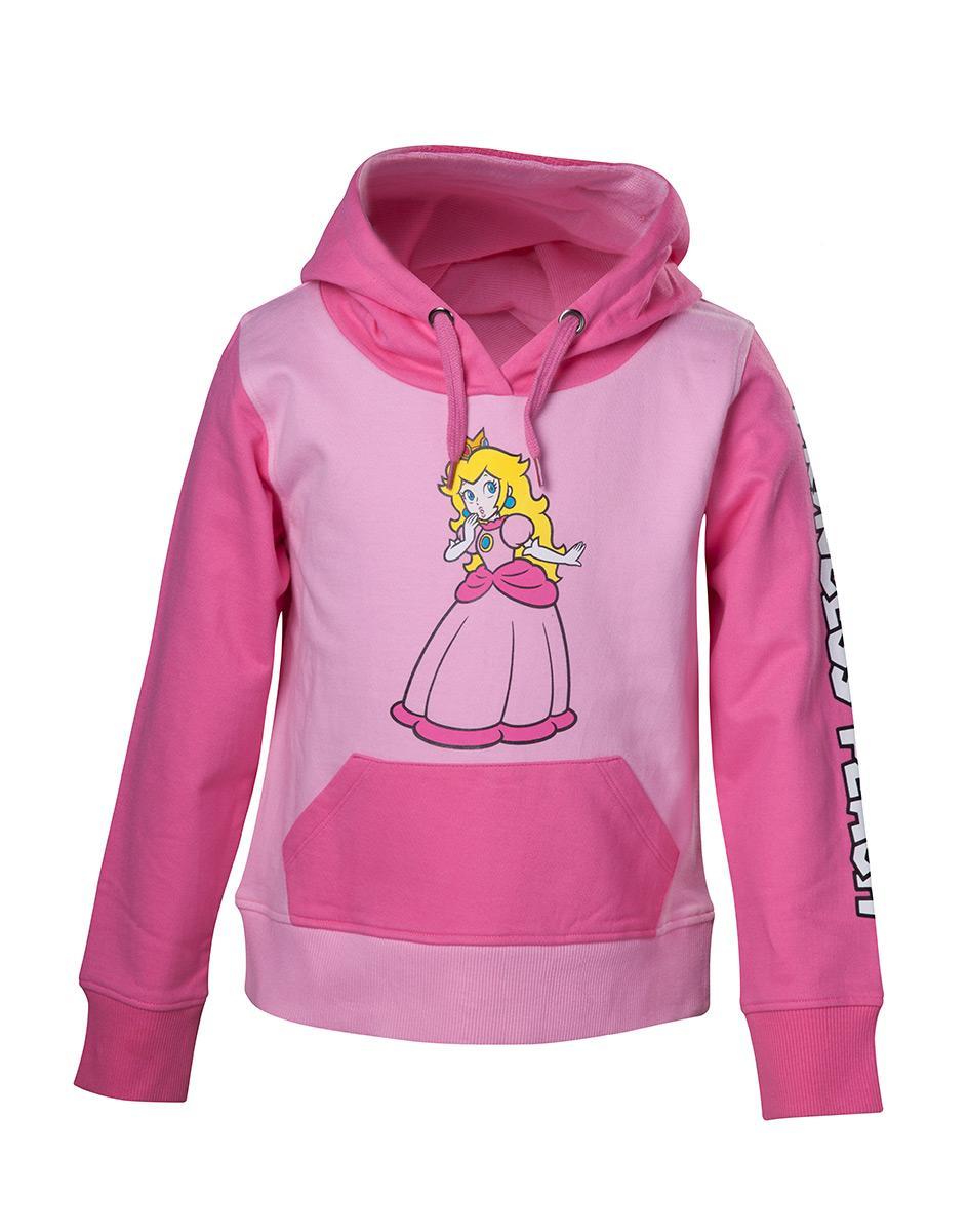 NINTENDO - Princess Peach KIDS Hoodie (146/152)