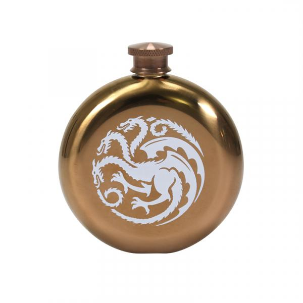 GAME OF THRONES - Hip Flask - Khaleesi 'Mother of Dragons'