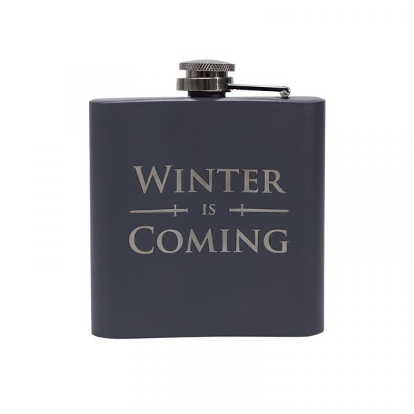 GAME OF THRONES - Hip Flask - Stark 'Winter is Coming'