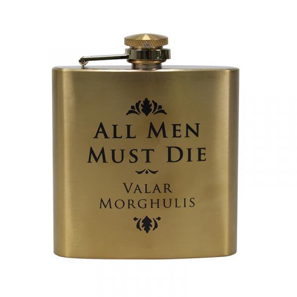 GAME OF THRONES - Hip Flask - All Men Must Die